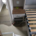 static caravan flood repairs