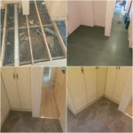 Pictures of static caravan floor