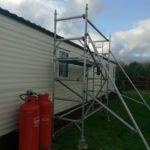 static caravan roof repairs