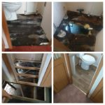 static caravan flood repair