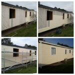 Caravan cladding photo